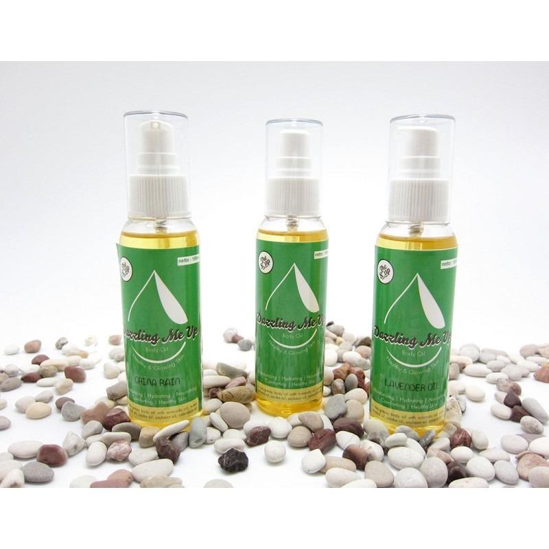 The Soap Corner Dazzling Me Up Calendula Body Oil 100% Natural