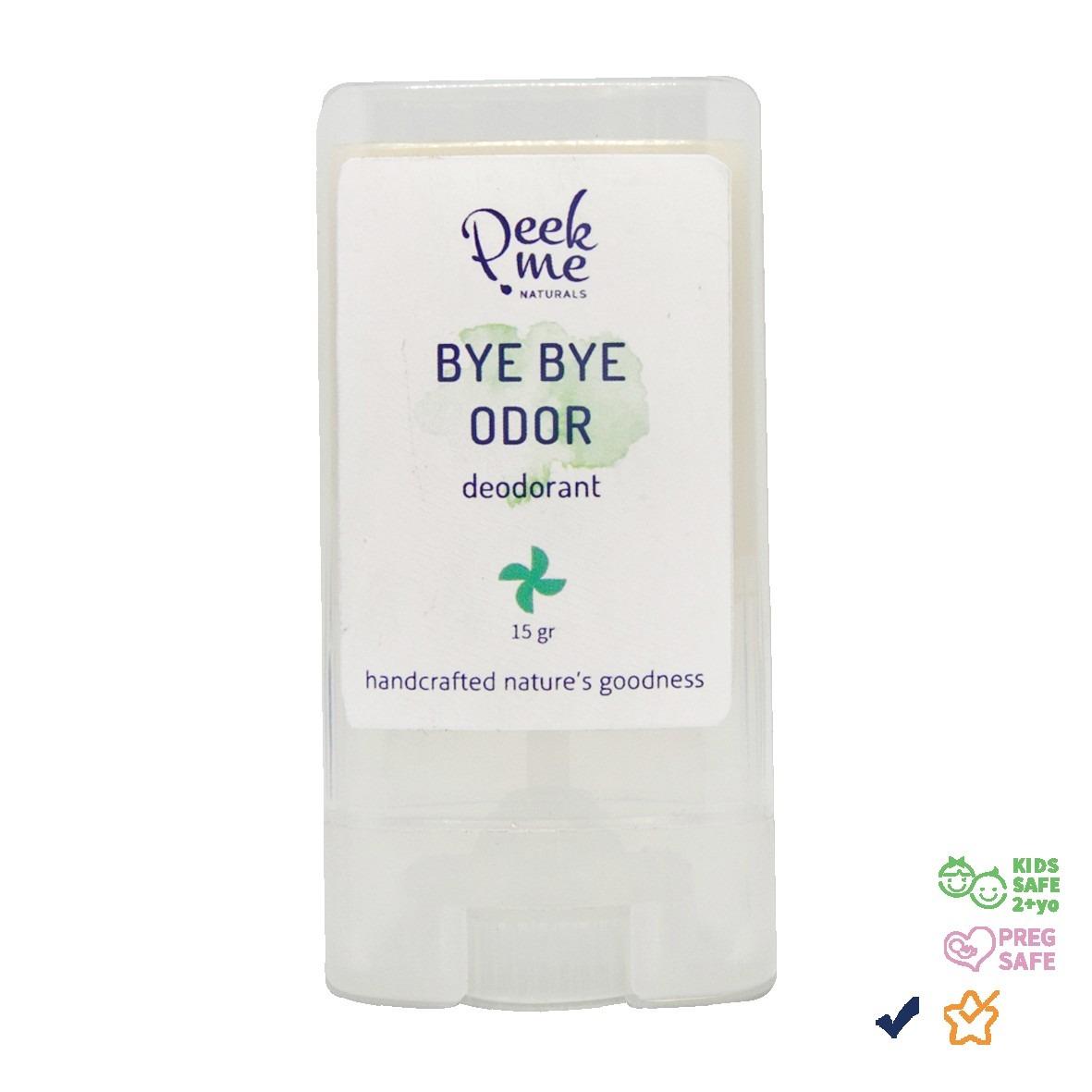 Peek Me Naturals Bye Bye Odor