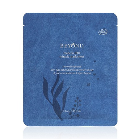 Beyond made in JEJU miracle mask sheet