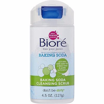 Biore Baking Soda Acne Scrub