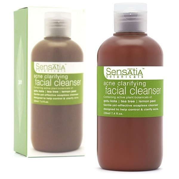 Sensatia Botanicals Acne Clarifying Facial Cleanser