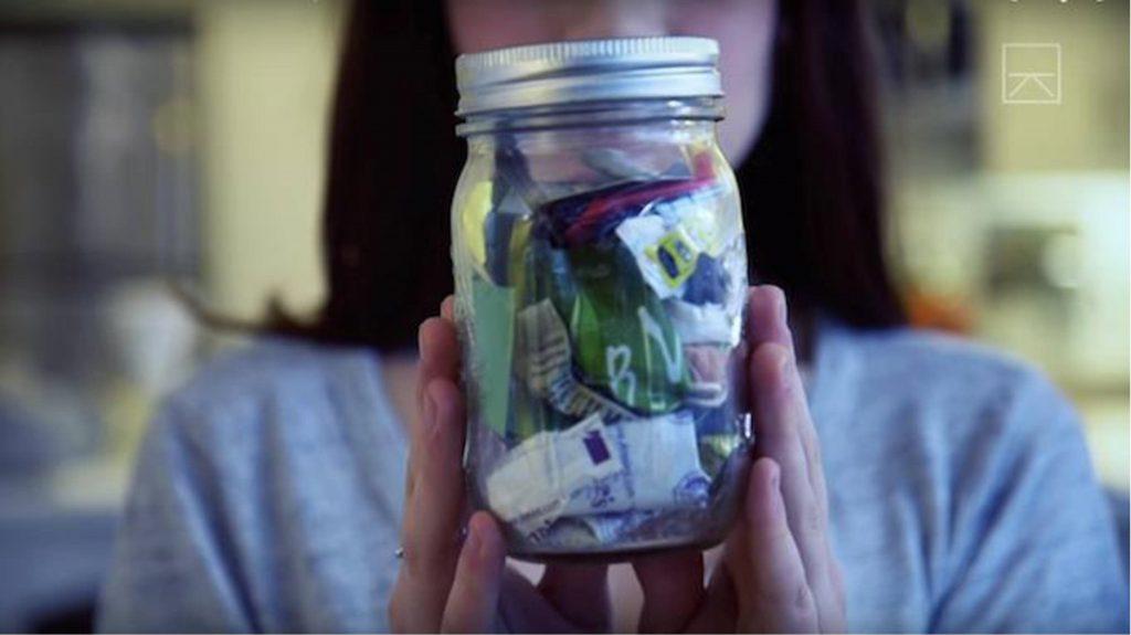 Lauren Singer's trash 2