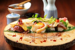 Stylish Japanese restaurant with the special dish and drink waiting for you Modern Japanese Izakaya Restaurant