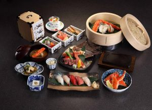 Japanese Authentic Kaiseki Cuisine