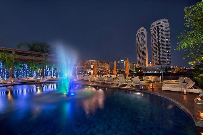 riva surya swimming pool special offer best hotel bangkok