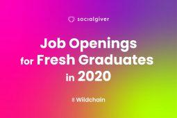 Job Openings for Fresh Graduates in 2020