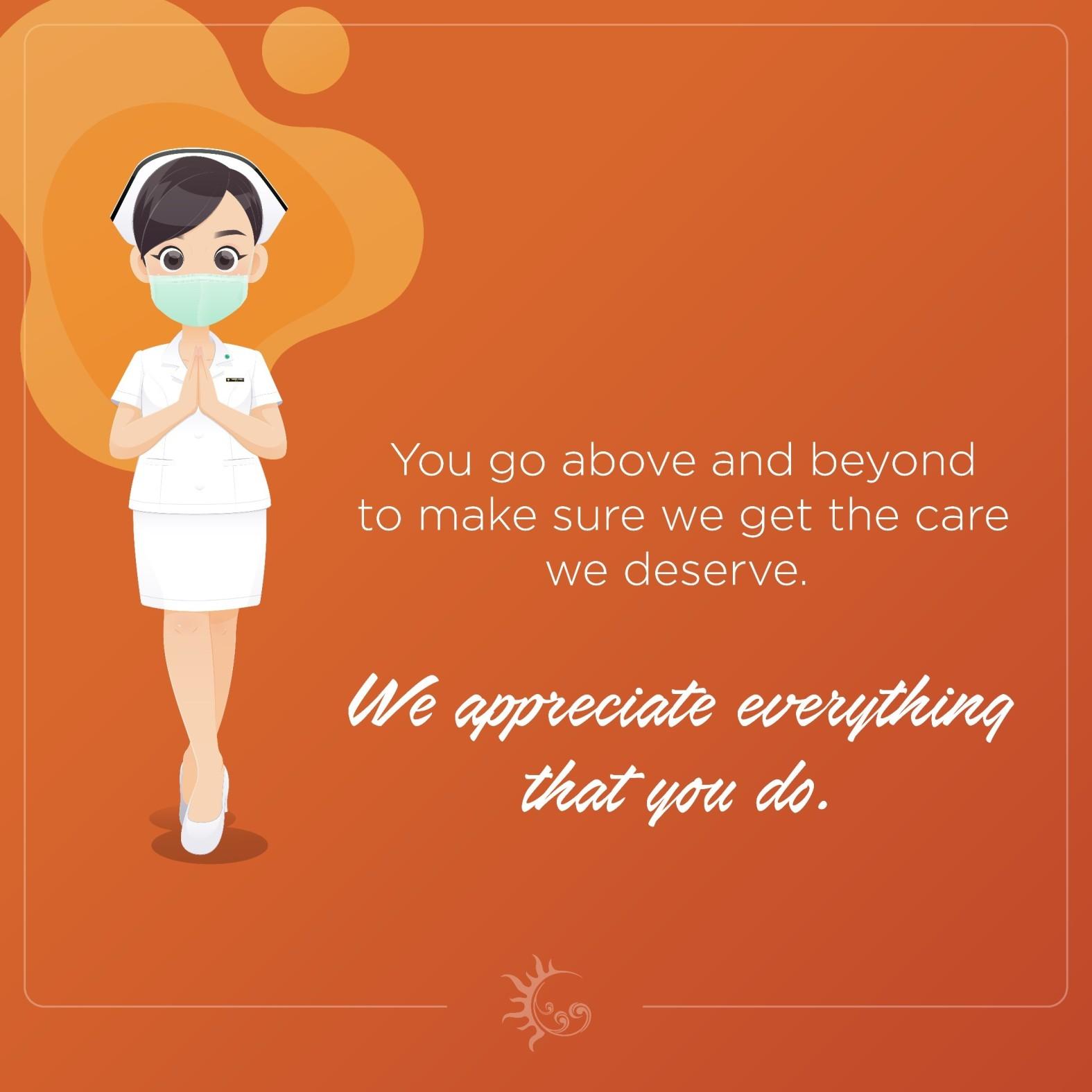 Orange Card for Nurses