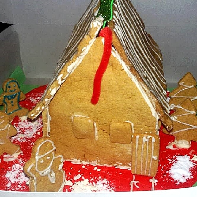 Wholewheat Gingerbread House