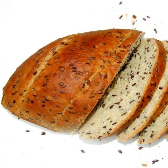 Whole Wheat Flaxseed Bread (Vegan)