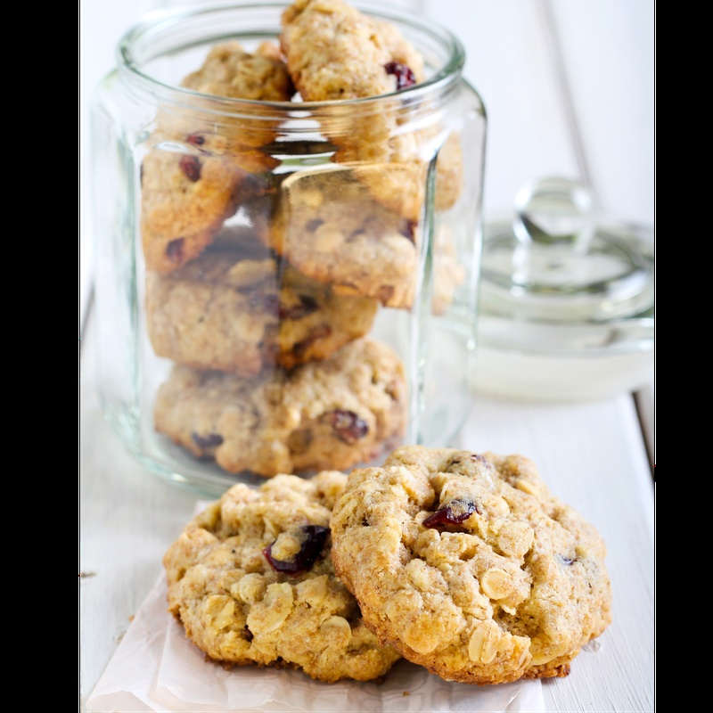 Whole wheat Cranberry cookies