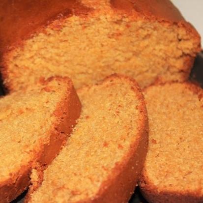 Whole Wheat Pound Cake (Eggless)