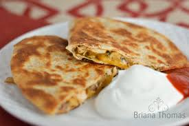 Three Cheese mexican tortillas