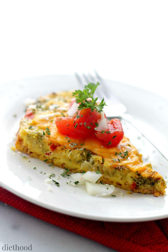 All Veggie omlette