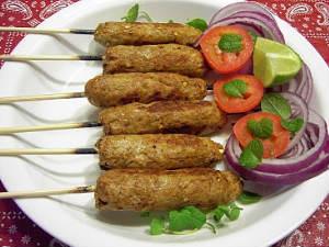 paneer seekh kabab