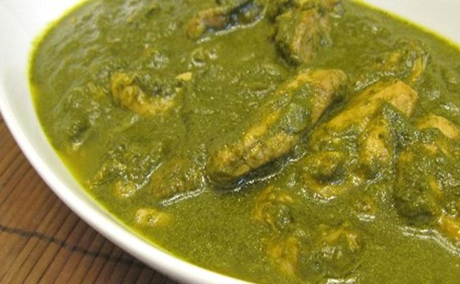 Chicken Saag Wala