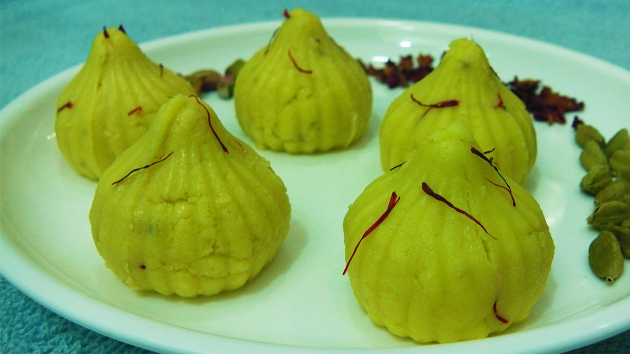 Paneer Chocolate Modak
