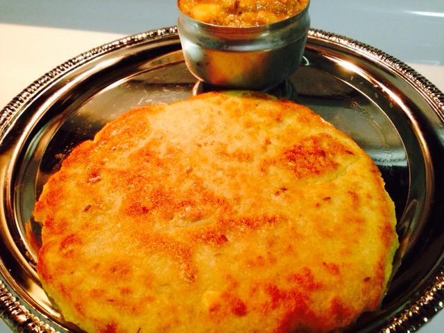 Urad Dal Roti/Stuffed Urad Dal Paratha