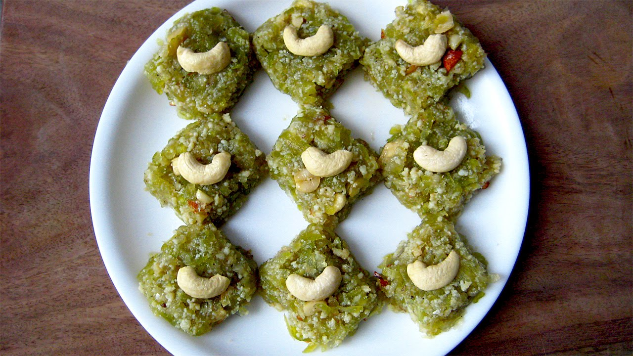 Lauki ki Katli-bottle Gourd Fudge
