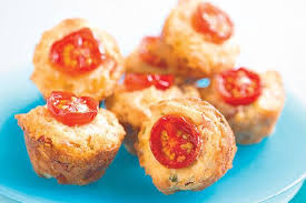Tomato Cheese Muffin