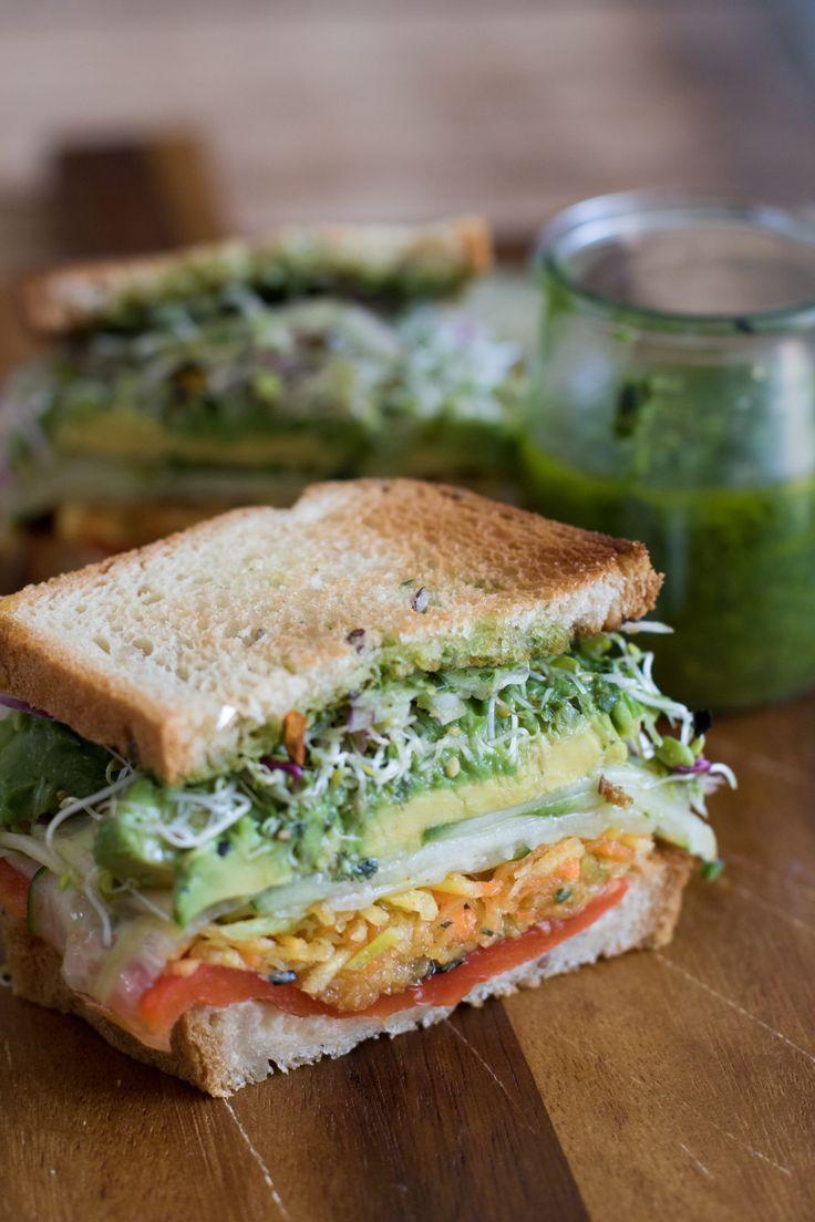 Greeny sandwich