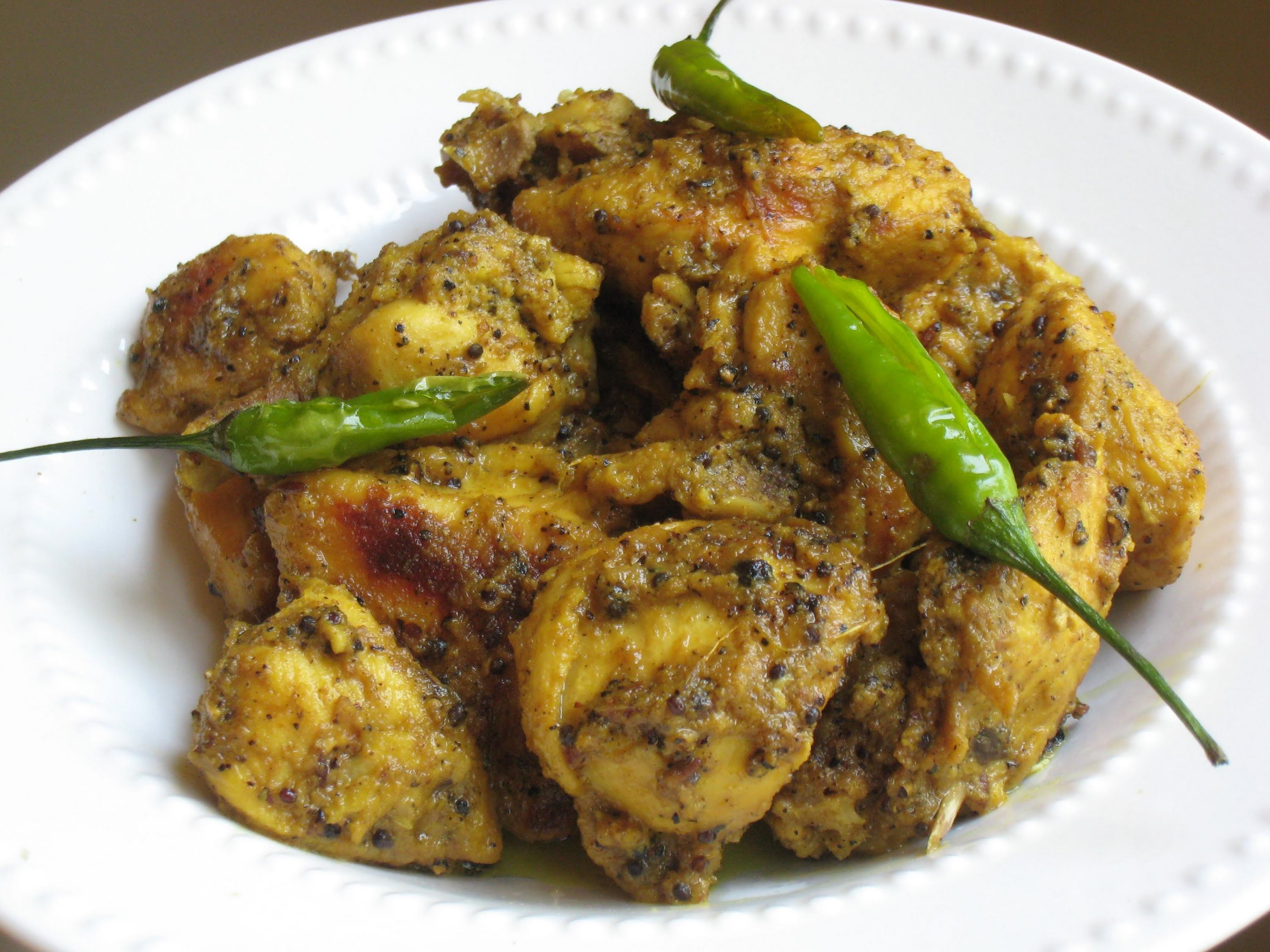Mutton tikka kali mirch