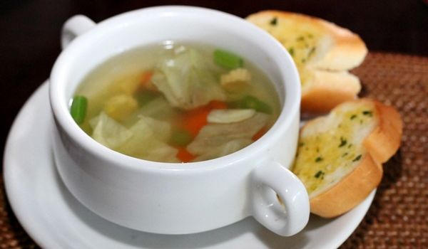 Non veg clear soup