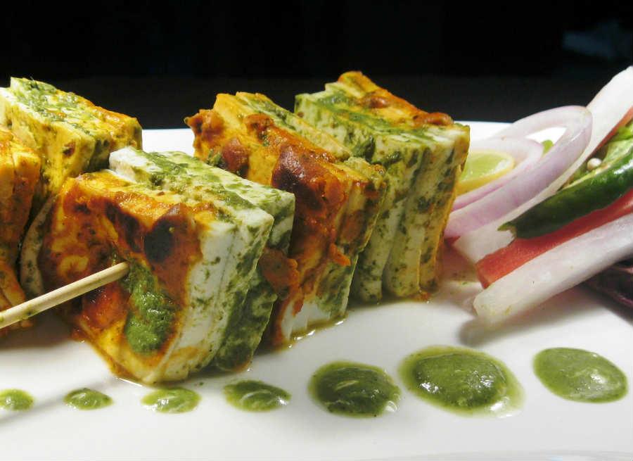 Paneer Dhaniya Kebab