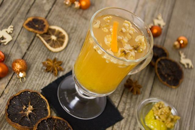 healthy orange-carrot juice