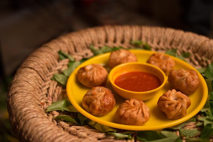 Chicken tandoori momos