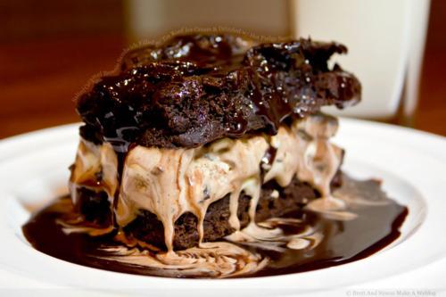 Icecream Brownie