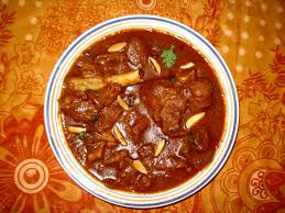 Mutton Rogan Josh ( Kashmiri speciality, mutton cooked in kashmiri spices)