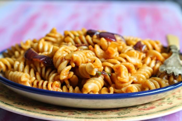 Burnt Garlic Pasta