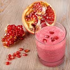 Chilled Pomegranate and Oats Shake