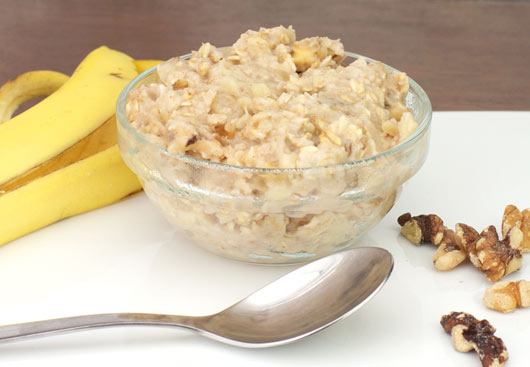 Banana nut oat meal