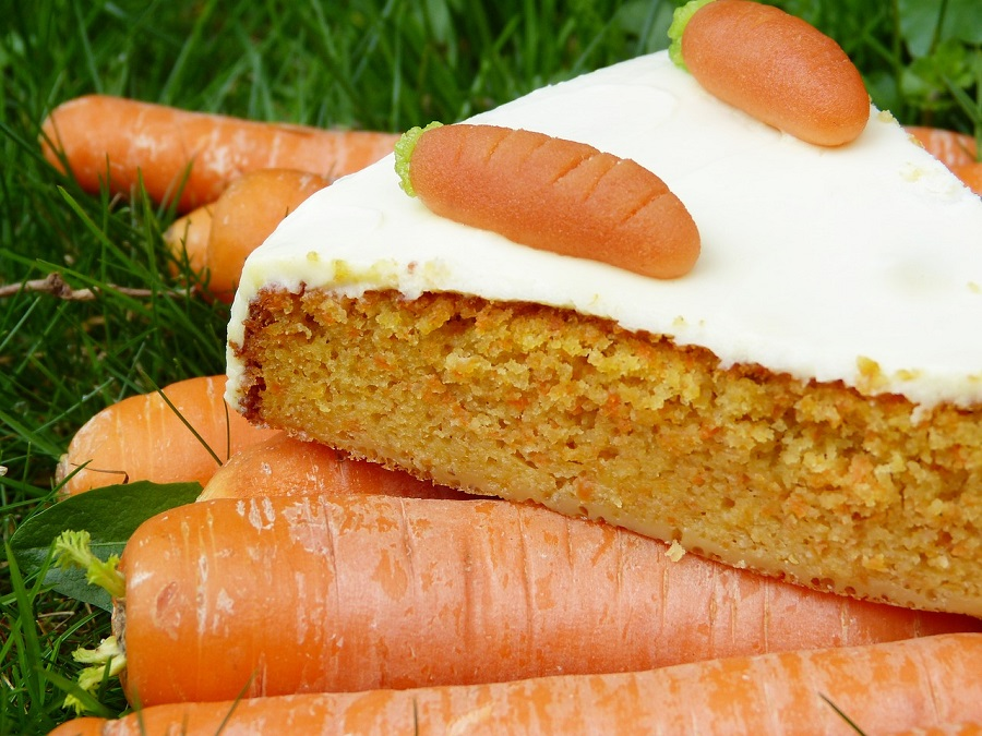 Carrot ginger cake