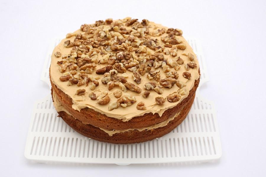 Coffee-Walnut cake