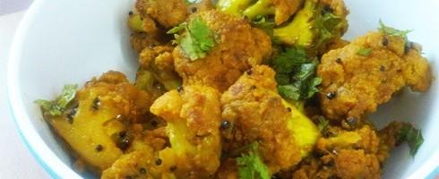 Gobhi masala steamed