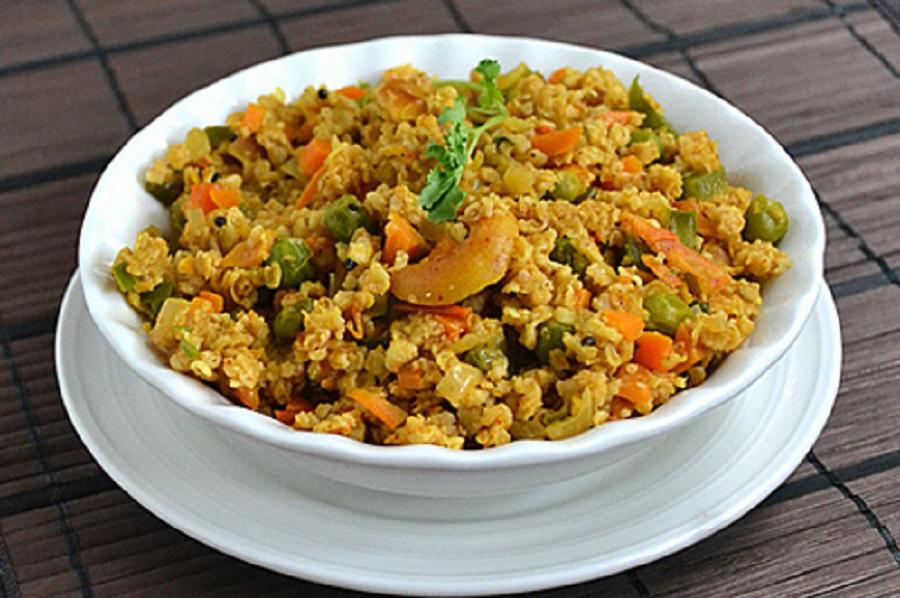 Comforting Vegetable Daliya