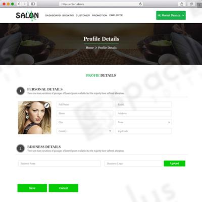 Salon portfolio2