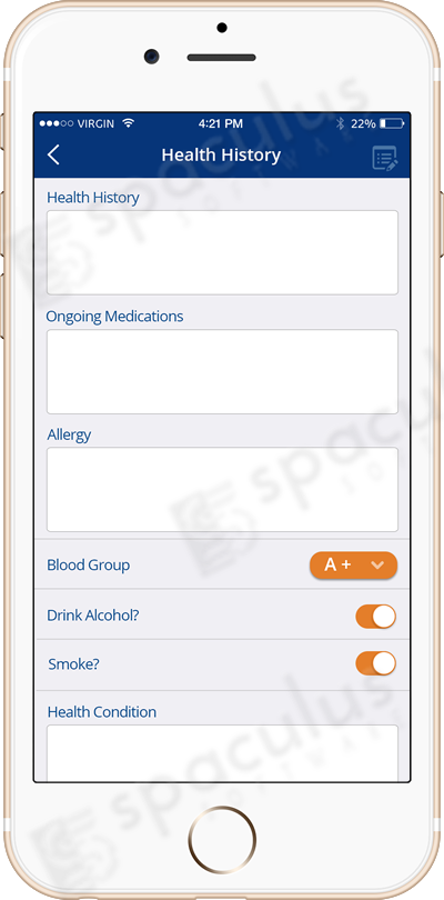 Doctor Appointment Booking Mobile App - Spaculus