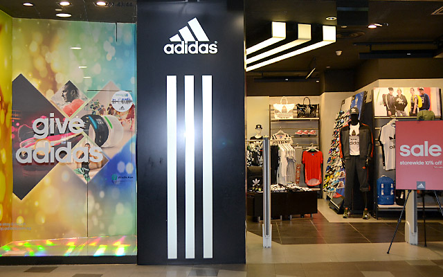 adidas outlet store locator