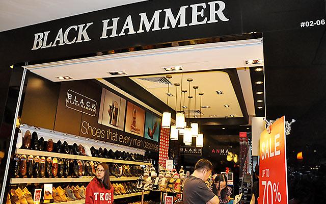Black Hammer Safety Shoes Singapore
