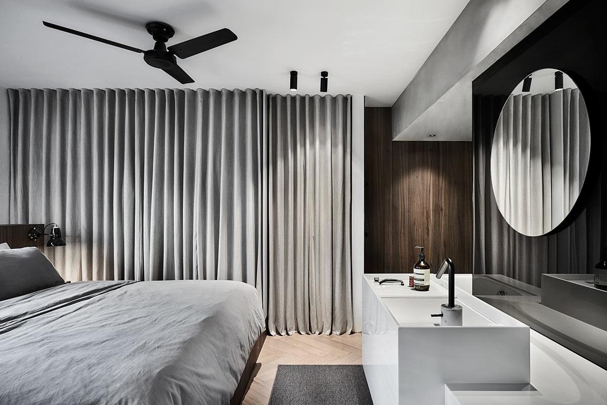 SquareRooms-UPSTAIRS-Creative-director-HDB-master-bedroom-grey-minimalist-cool-contemporary-design