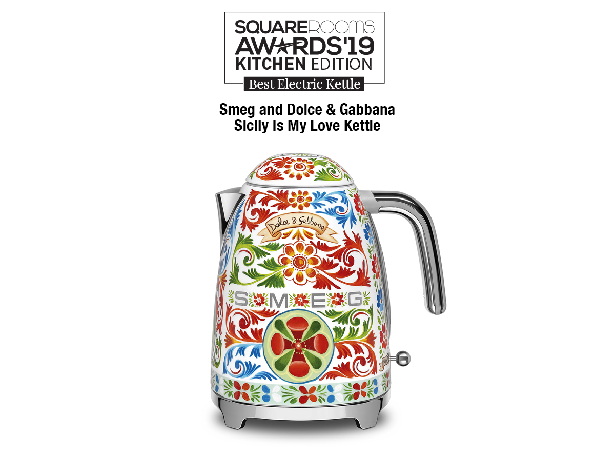 Smeg and Dolce & Gabbana Sicily Is My Love Kettle