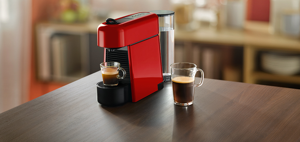 Nespresso Essenza Plus Coffee Machine Makes The Perfect Cup Of Coffee Squarerooms