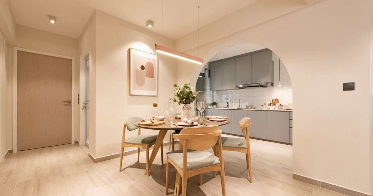 MSS dining area mr shopper studio squarerooms scandi wood cosy kitchen dining open space concept