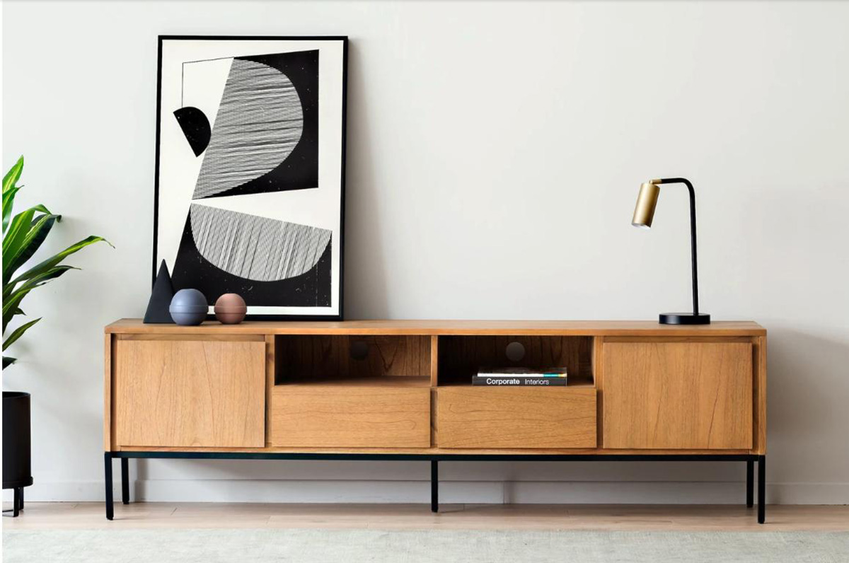 Pictured: Alexander TV Console, $849.