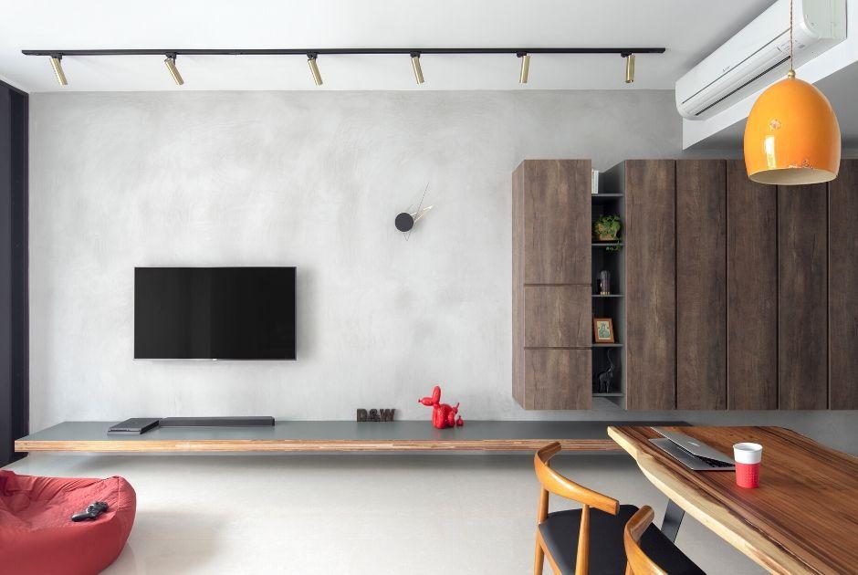 squarerooms-versaform-track-lights-industrial-living-room-grey-wall