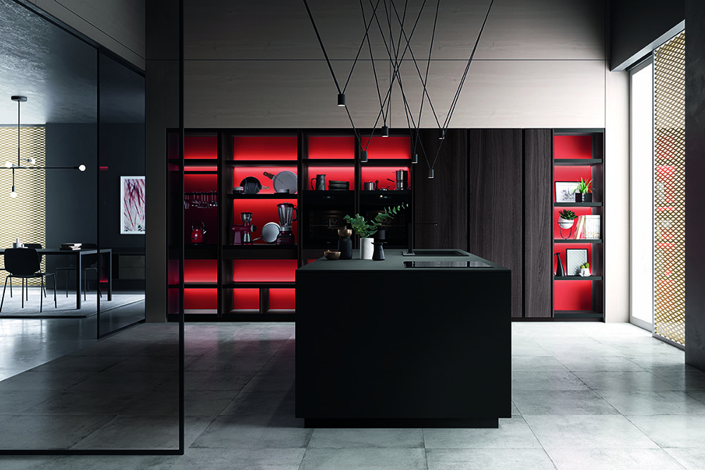 squarerooms-w-atelier-kitchen-goth-black-red-dark-moody
