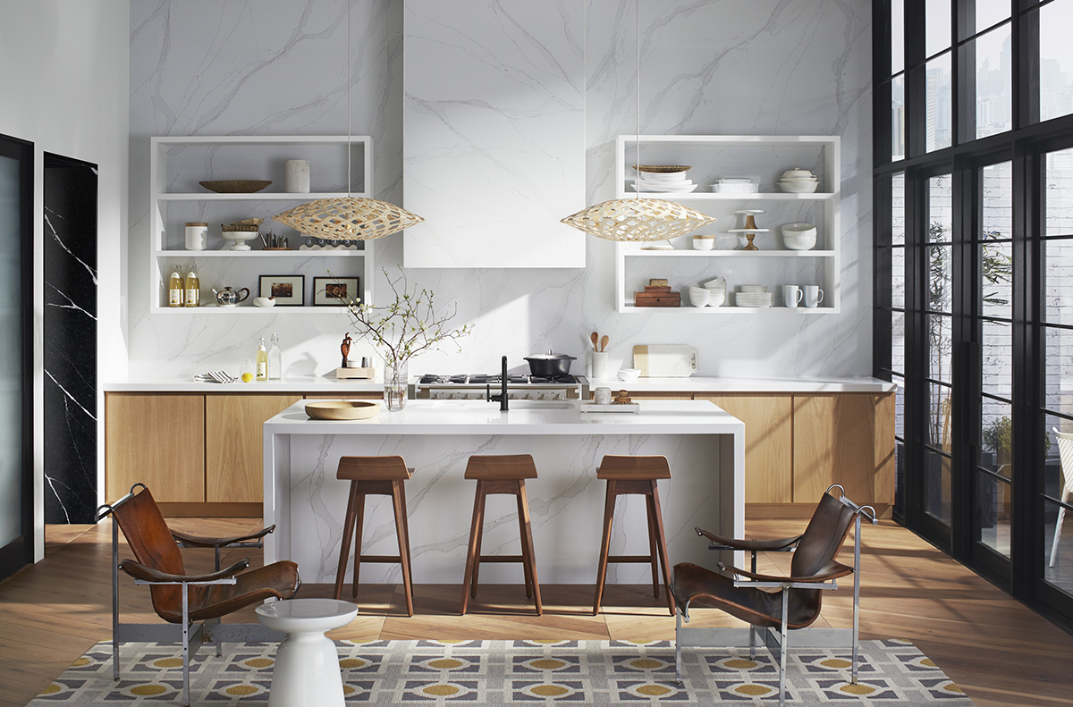 squarerooms-cosentino-kitchen-white-island-wooden-chairs